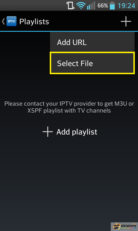 User guide for IPTV with Android IPTV - ResellerIPTV