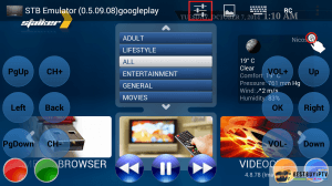 iptv for Android STB Emulator