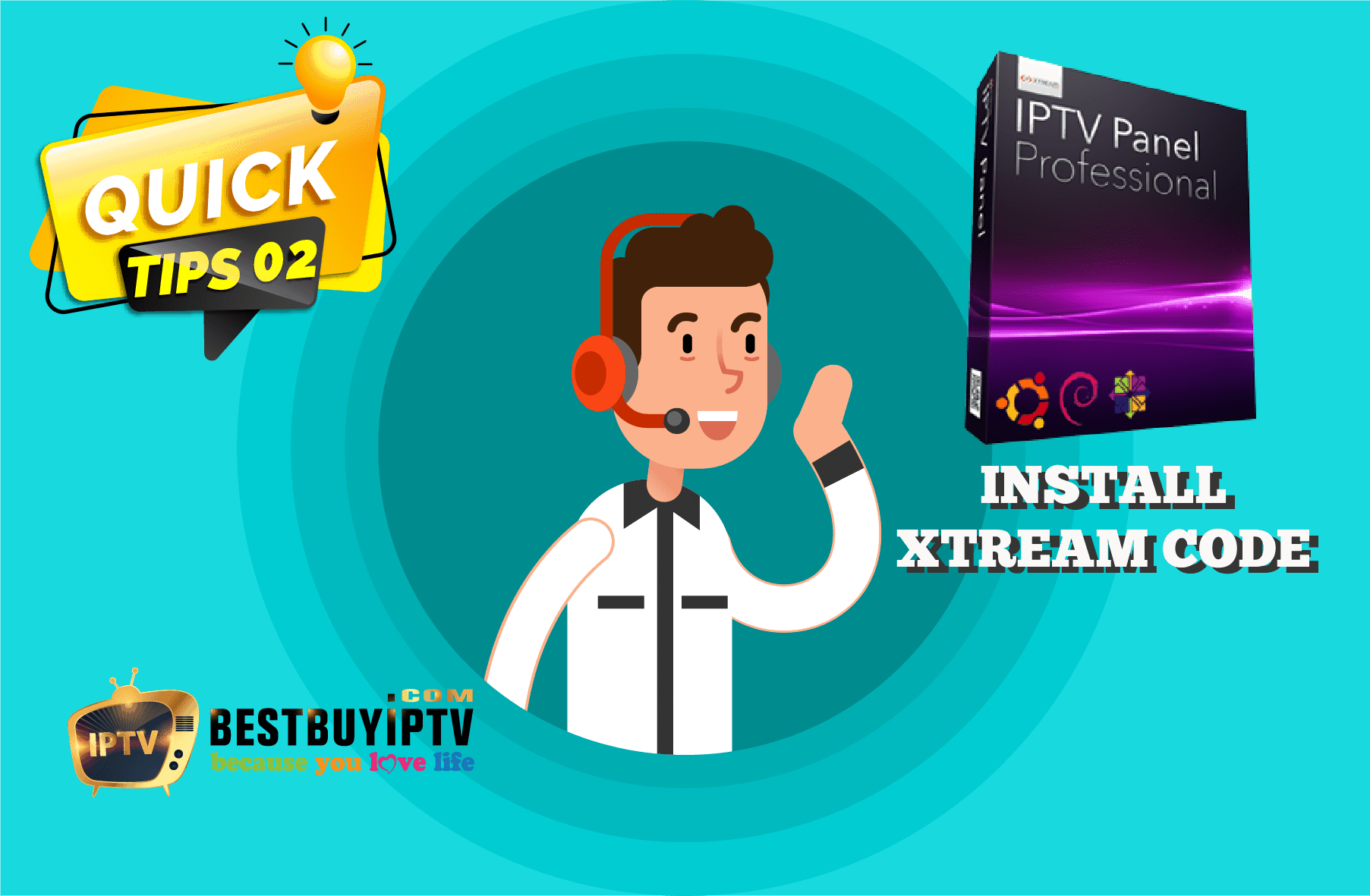 Install xtream codes - IPTV Subcription | BestbuyIPTV